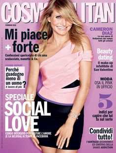 Magazine photos featuring Cameron Diaz on the cover. Cameron Diaz magazine cover photos, back issues and newstand editions. Cover Pages, Album Covers, List Of Magazines, Fashion Magazine Cover, Magazine Covers, Cameron Diaz, Cosmopolitan Magazine, Album Songs