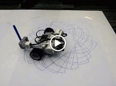 Awesome Spirograph robots using the Gyro Sensor on the new LEGO Mindstorms #EV3…