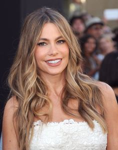 "Pin for Later: Can't Decide Between Blonde and Brunette? Embrace Your Inner ""Bronde"" Sofia Vergara"