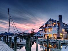 patio overlooks boats/ water- Edgartown (Ferry House)