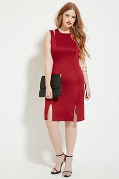 Plus-Size Two-Strap Dress | Forever 21 PLUS #forever21plus