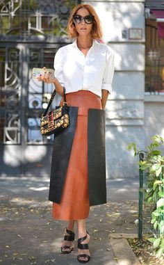 Candela Novembre from Street Style at Milan Fashion Week Spring 2016