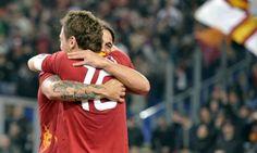 #Osvaldo.  #Totti. Love.
