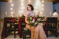 Boardwalk Empire Inspired Styled Wedding Shoot | Edward Lai Photography