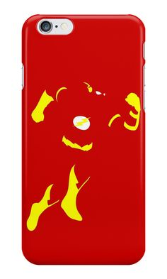 """Flash Minimalist Art"" iPhone Cases & Skins by adesigngeek 