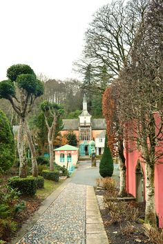 Places to stay: Portmeirion village, Snowdonia Wales Uk, North Wales, Norm Of The North, Port Meirion, Snowdonia, Places Of Interest, August 2014, Travel List, British Isles