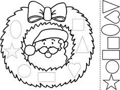 Dibujos Para Imprimir De Navidad | ... santa claus papa noel dibujos de navidad para colorear para niños