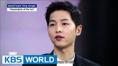 Engsub! [Special interview with  Song Joongki]