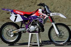 Larry Ward yamaha YZ 250 Noleen Sizzler AMA 1995