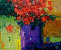 Barbara McCann - Purple Vase