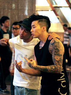 #calvinkleinlive from Hong Kong with Jay Park.  Photo: Kwannam Chu