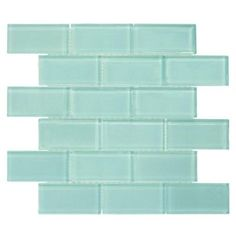 Jeffrey Court Tiffany May 11-3/4 in. x 11-3/4 in. x 8 mm Glass Mosaic Tile-99320 - The Home Depot