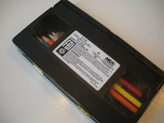 The Breakfast Club Upcycled VHS Pencil Box
