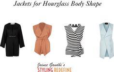Jackets for Hourglass Body Shape