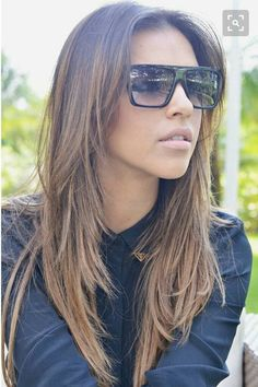 Long Straight Hairstyles With Choppy Layers