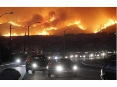 "WALDO CANYON FIRE: Hell in the rearview mirror. ""And there I sat in traffic. It's a memory I'll never forget. I teared up as I scanned the surrounding cars. Everywhere were children, scared and crying, their parents looking deathly afraid and, in my rearview mirror, a view of the gates of hell."""