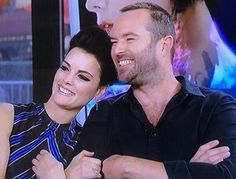 My two favorite stars...Jamie and Sully of Blindspot.