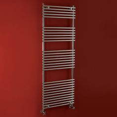 Phoenix Demi Designer Stainless Steel 21 Rail Towel Radiator 1200 x 600mm - Product Code: RA014 only for £154.80