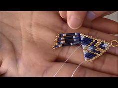 Seed Bead Earrings, Fringe Earrings, Beaded Earrings, Seed Beads, Beaded Bracelets, Seed Bead Patterns, Beading Patterns, Diy Boucle D'oreille, Earring Tutorial