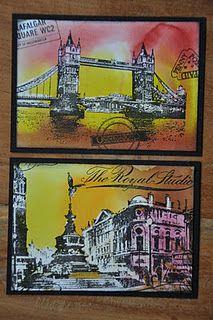 By Liesbeth Fidder using Darkroom Door London stamps