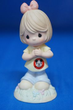 Mickey You're My Mouseketeer Disney Precious Moments 2005 Figurine 4004157 First #PreciousMoments