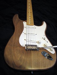 Strat - Raw Wood - Oiled