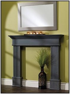 6 Motivated Cool Ideas: Living Room Remodel With Fireplace Furniture Arrangement living room remodel ideas floor plans.Livingroom Remodel Rustic living room remodel with fireplace benjamin moore.Living Room Remodel With Fireplace Dark Wood. Faux Fireplace Mantels, Stone Mantel, Country Fireplace, Candles In Fireplace, Shiplap Fireplace, Farmhouse Fireplace, Fireplace Remodel, Living Room With Fireplace, Simple Fireplace