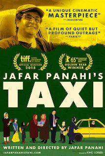 """Taxi Tehran (III) (2015)  """"Taxi"""" (original title) 82 min     Drama     15 April 2015 (France) Ratings: 7.5/10 from 2,040 users   Metascore: 90/100  Reviews: 8 user   88 critic   10 from Metacritic.com A day with a taxi driver in Teheran.  Director: Jafar Panahi Writer: Jafar Panahi Stars: Jafar Panahi"""