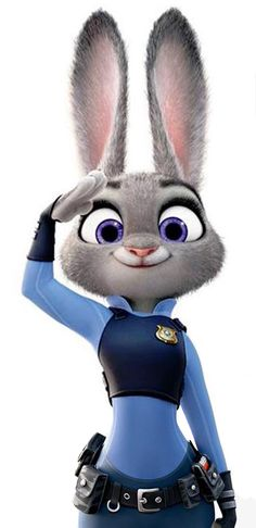 "Judy Hopps - Zootopia. Bunny character Judy Hopps (get it?) from Bunnyburrow (get it?) has numerous feminist characteristics – she is determined, resilient, and doesn't have a love interest (not that this is inherently feminist, but it is unusual to see in movies with human women and anthropomorphic bunnies alike). The voice of Judy, Ginnifer Goodwin describes the rabbit as ""a little Pollyana mixed with Furiosa""."