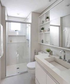 Best Pic narrow Bathroom Makeover Ideas In relation to the actual resell value of your property, remodeling your bathroom could well be just Small Narrow Bathroom, Bathroom Design Small, Bathroom Interior Design, Modern Bathroom, Shower Bathroom, Bathroom Ideas, Master Bathroom, Condo Bathroom, Small Tiles
