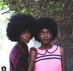 Beautiful Twins and that lovely Hair!