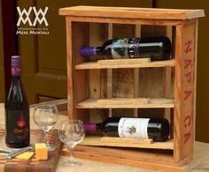 Woodworking videos and projects. Woodworking for Mere Mortals: Build a rustic wine cabinet using free pallet wood. Great upcycling project.