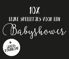 10 leuke babyshower spelletjes, dat is handig!