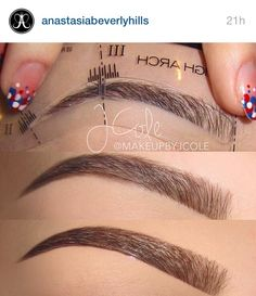 Anastasia brow stencils… Want