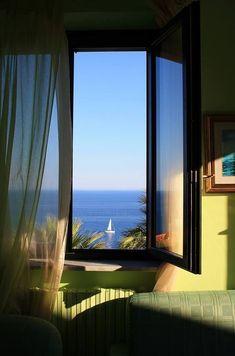Vista al Mar, Costa de Amalfi, Italia