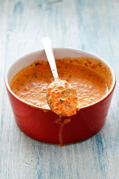 Moroccan spices are blended into this smooth spicy-sweet carrot dip. Try it with pita chips or crudites as part of a mezze platter or as a nutritious condiment for sandwiches. Spicy Recipes, Pasta Recipes, Mexican Food Recipes, Soup Recipes, Chicken Recipes, Dessert Recipes, Cooking Recipes, Desserts, Healthy Recipes
