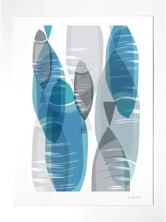 Fish Print - Fish Illustration - Art print by nicemiceforyou. $20.00, via Etsy.