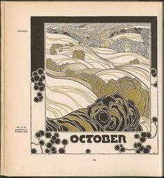 Once again… Adolf Böhm here Ver Sacrum ,1901