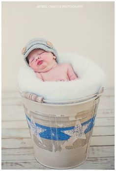 Our Newsboy hat prop in this super cute newborn photo shoot.