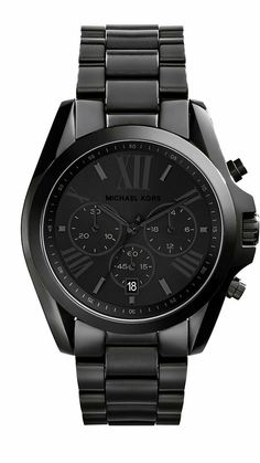 Michael Kors - Bradshaw Black Stainless Steel Watch