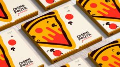 Cosmopolita Pizza Branding on Behance