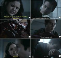 Teen Wolf #5x18 • The Maid of Gévaudan • Hayden, Liam and Stiles