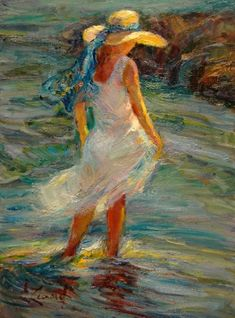 By The Shore ~ Diane Leonard