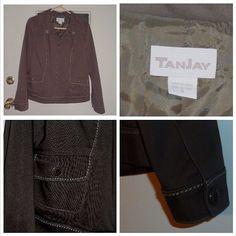 Just Listed: TanJay Jacket size 8  #TanJay #Jacketsforsale #Usedjackets #Betubidauctions #Betteralternative