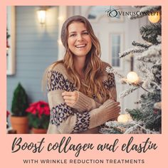 Wrinkle reduction treatments use heat to comfortably and naturally boost collagen production, resulting in smoother skin with no downtime. Loose Skin, To Loose, Anti Aging Treatments, Aging Process, Younger Looking Skin, Collagen