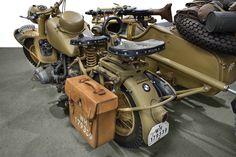 BMW's military motorcycles quickly evolved into beasts of wartime burden that were so sturdy and reliable...