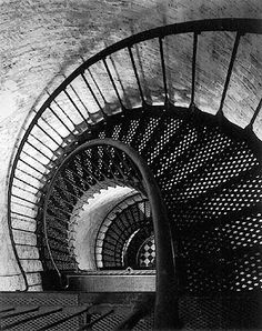black white photos beautiful Black and White lighthouse photos Take The Stairs, Under Stairs, Black White Photos, Black And White, Black Metal, Metal Steps, Beach Lighting, Stair Landing, Stair Steps