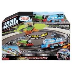 Fisher-Price Thomas & Friends TrackMaster Thomas & Percy's Railway Race Set