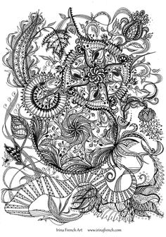Dragon Mandala Colouring Sheet Good Quality Print