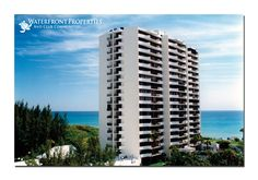 Cote D'Azur, a gated oceanfront condominium, is located at the farthest point east on Singer Island. Consisting of two 18-story towers, Cote D'Azur features 206 units, with six units per floor and two floor plans ranging from 1400 to 1500 square feet. Residents enjoy beautiful views of the Atlantic Ocean, in addition to easy beach access. Amenities include a heated pool, tennis courts, and covered parking.